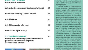 Nová Exota - obsah časopisu - Únor 2020
