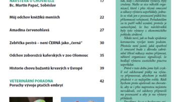 Obsah časopisu Nová Exota č. 9/2021